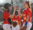 Sacred Heart hitters back Claire O'Brien's complete game win